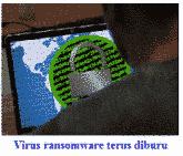 awas ransomware memakan data komputer anda
