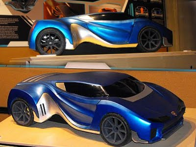 Lamborghini Sport Cars With Electric Concept By Denis Archambault