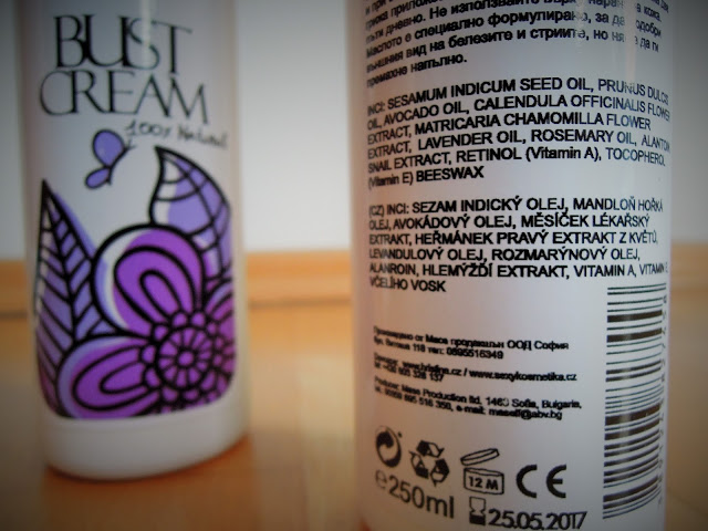 Kosmetika Hristina cosmetics  Mother & Baby Body oil složení recenze