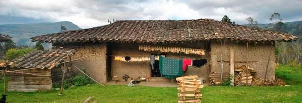 Vivienda tradicional de los saraguros - Viviendas en torrejon de ardoz ...