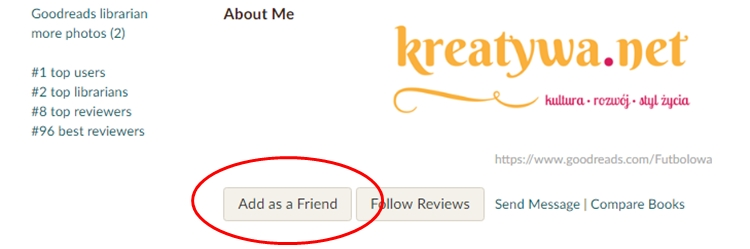 kreatywa on goodreads