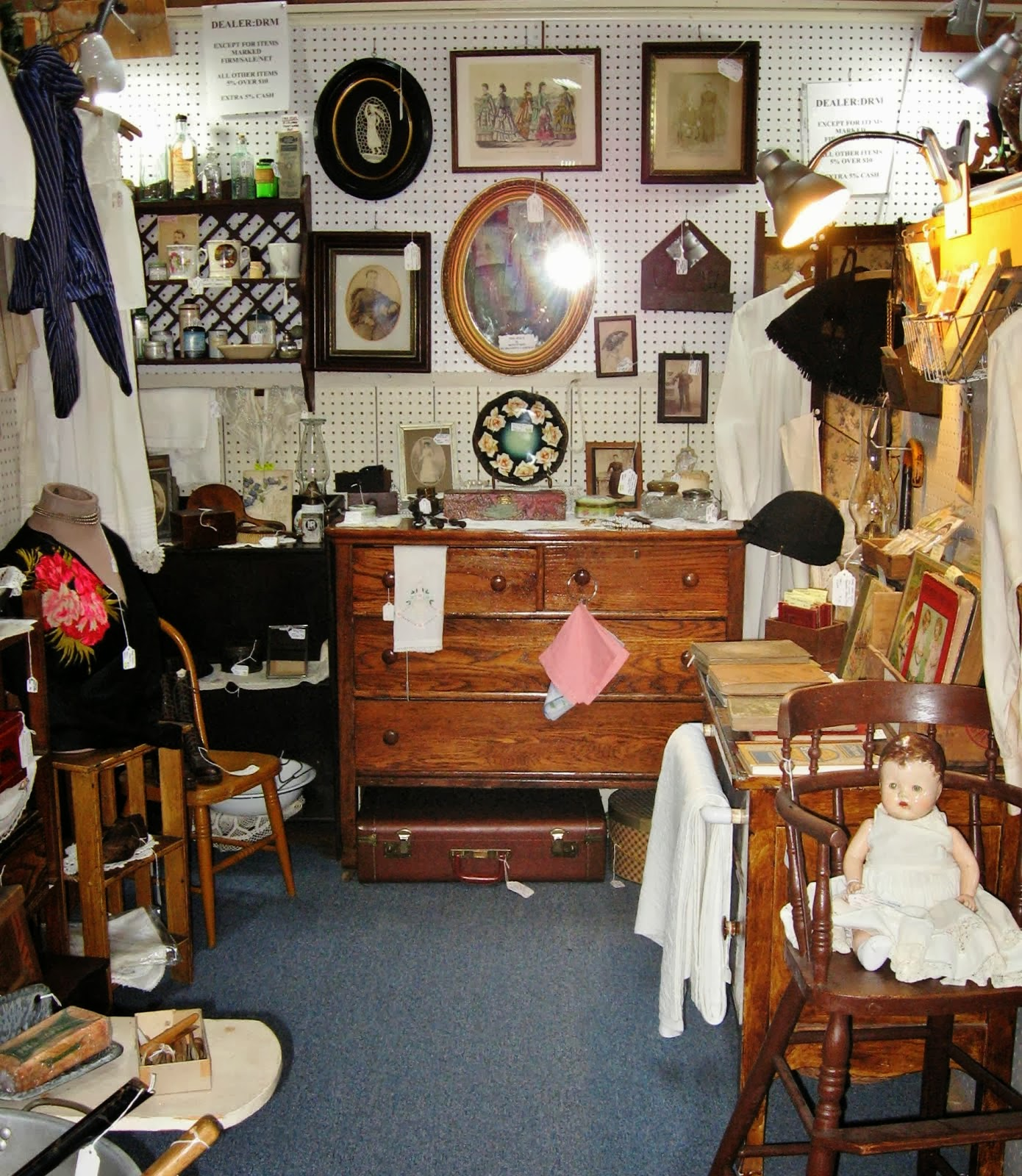 Victorian Ladies Section