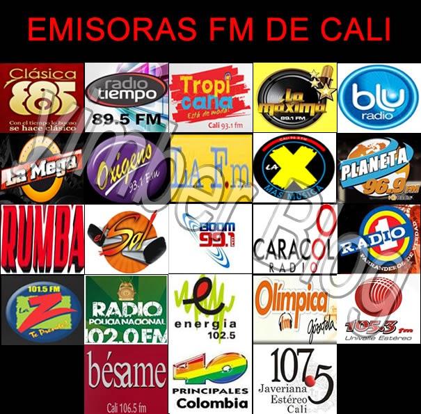 Emisora FM de Cali -Colombia compilado por Yimber Gaviria