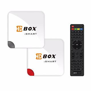 ATUALIZAÇÃO  HDBOX iSMART - 07/05/2018