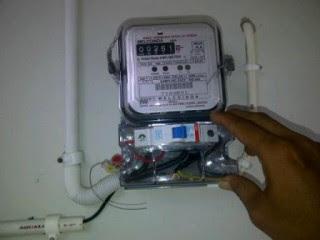 meteran tagihan listrik bulanan