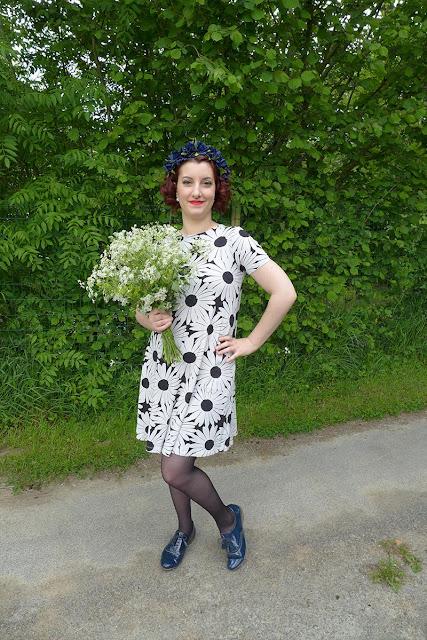 look fleuri pour le printemps