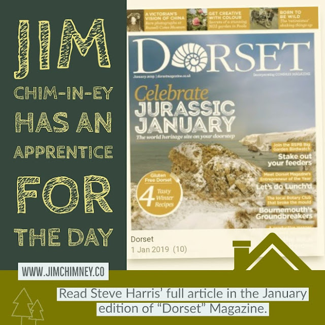 Jim Chim-in-ey has an apprentice for the day - Dorset Magazine 02