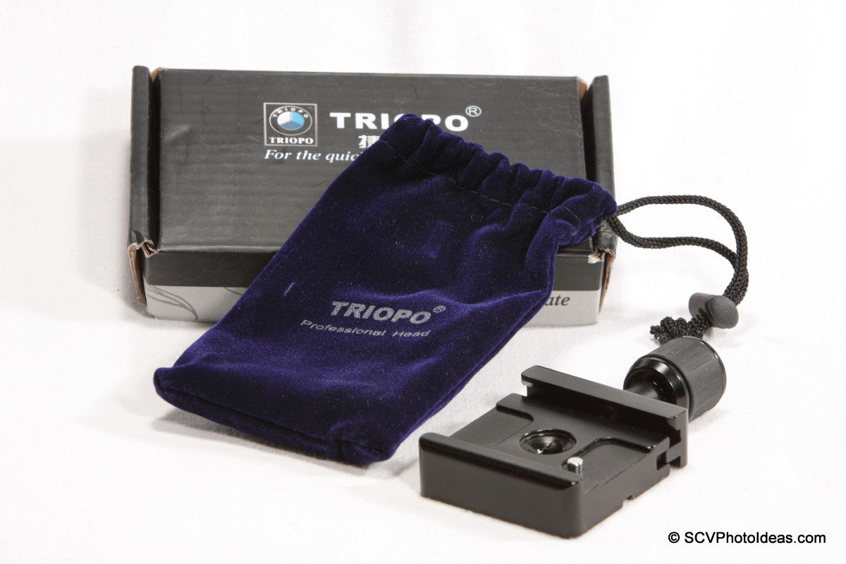 Triopo B-2 Quick Release Clamp box & bag