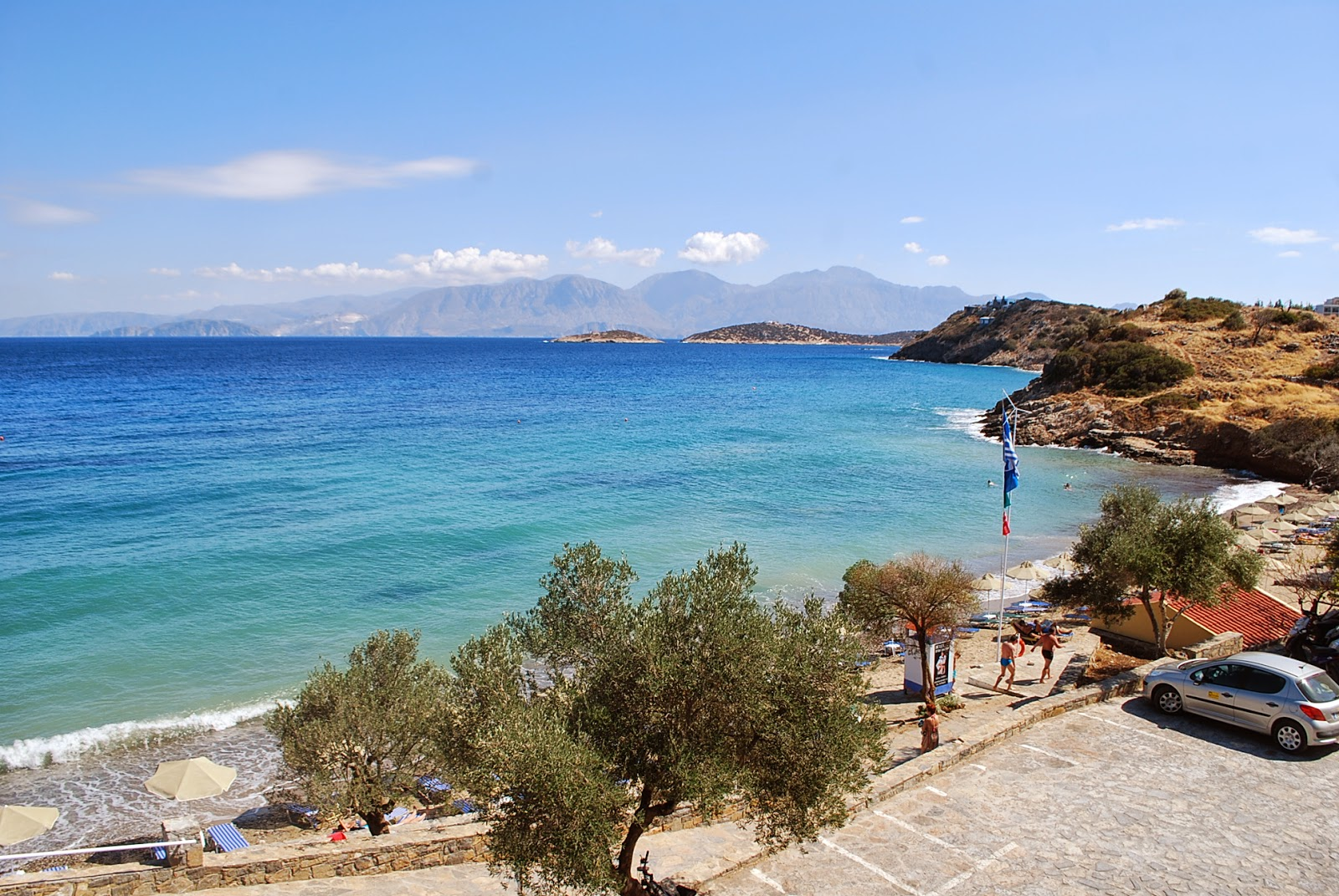 Пляж Гавания, Крит, Греция. Havania beach, Crete, Greece.