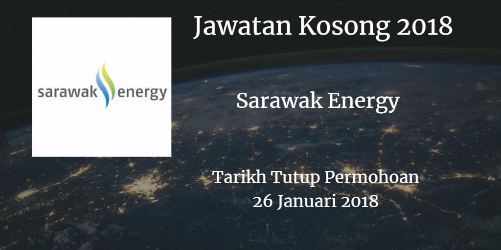 Jawatan Kosong Sarawak Energy 26 Januari 2018