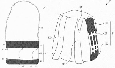 tech, tech news, news, technology, new technology, Sony wants your next bag to double as a screen, sony, WEARABLES NEWS,