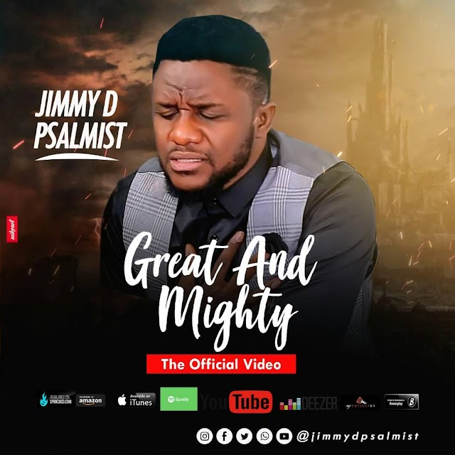 "VIDEO:Jimmy D Psalmist - ""Great And Mighty""  