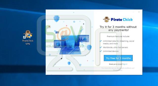 Pirate Chick VPN