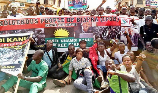 buhari threat against biafra