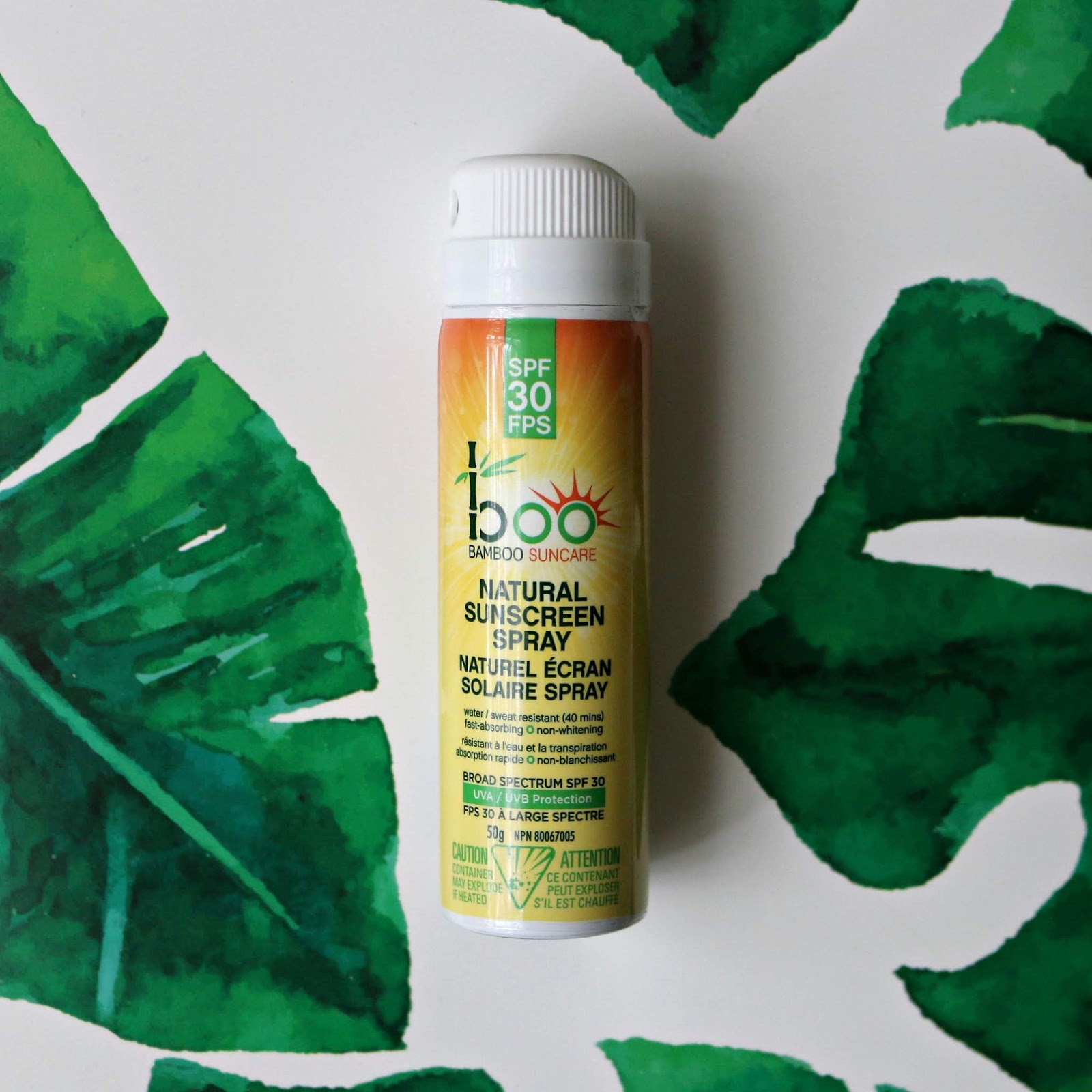 Boo Bamboo Suncare Natural Sunscreen Spray SPF 30 mini