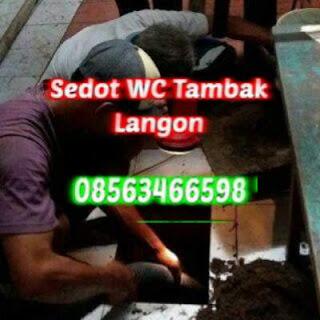 Sedot WC Tambak Langon Murah