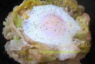 uovo nel nido... di porri