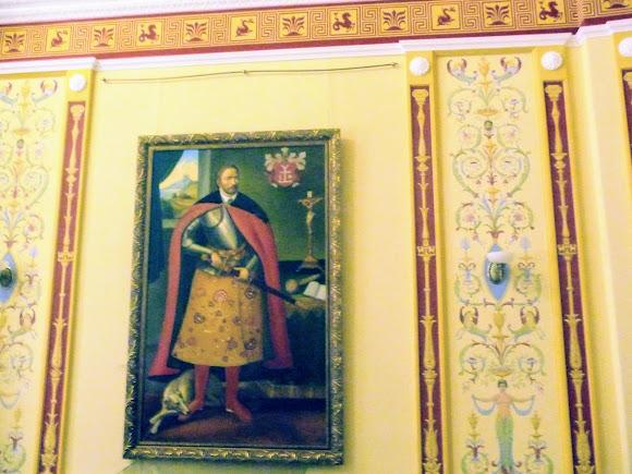 Батурин. Палац графа Розумовського. Портрети гетьманів