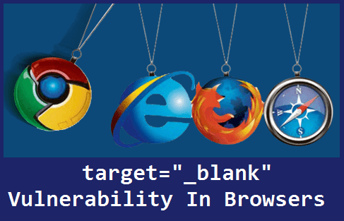 """Facebook And Twitter Accounts Can Hack Through target=""""_blank"""" Vulnerability"""