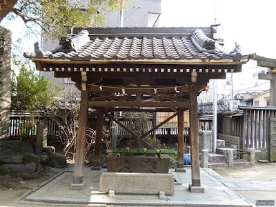 八坂神社手水舎