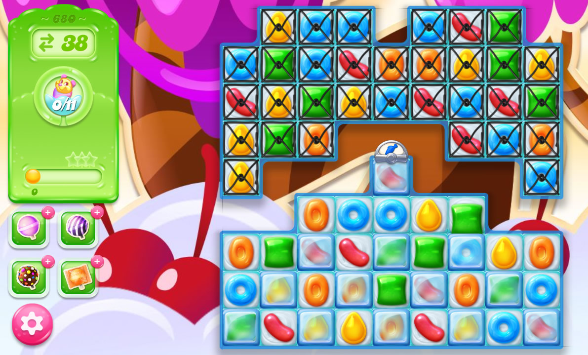 Candy Crush Jelly Saga level 680