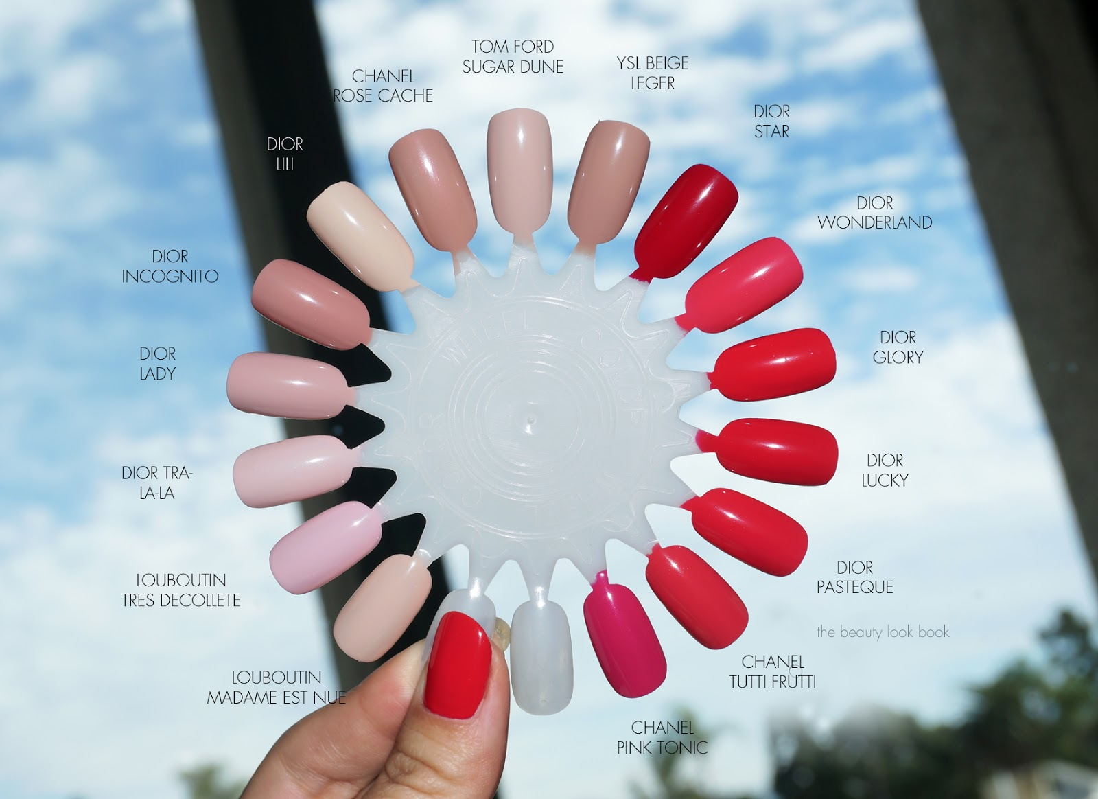 The Beauty Look Book Dior Vernis Kingdom Of Colors Lady And Glory Comparisons