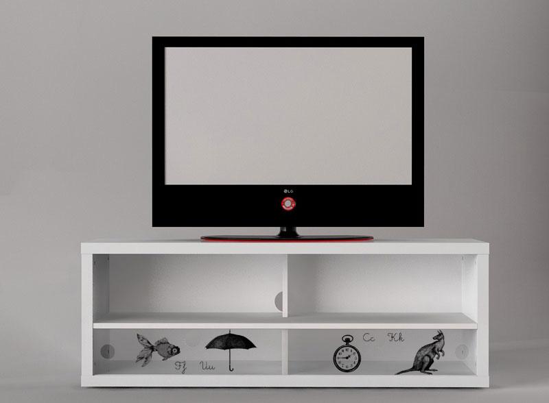 digitally printed media cabinet