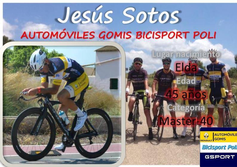Jesús Sotos, del Automóviles Gomis, temporada 2017