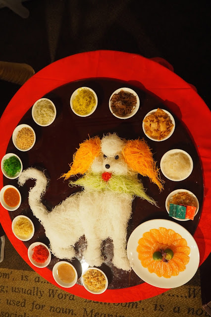 Where to eat Yusheng Year of the Dog Singapore review
