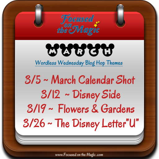 The Disney Wordless Wednesday Themes for March