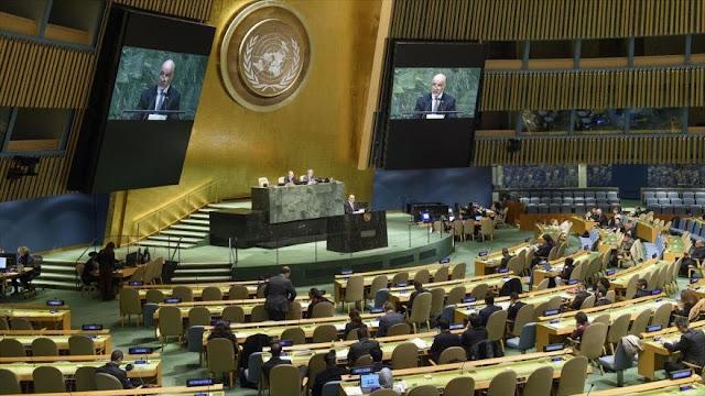 La ONU rechaza la resolución antipalestina de EEUU