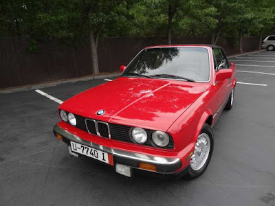 Red, 1988 BMW 325i, For Sale, Foreign Motorcars Inc, Quincy MA, BMW Service, BMW Repair, BMW Sales