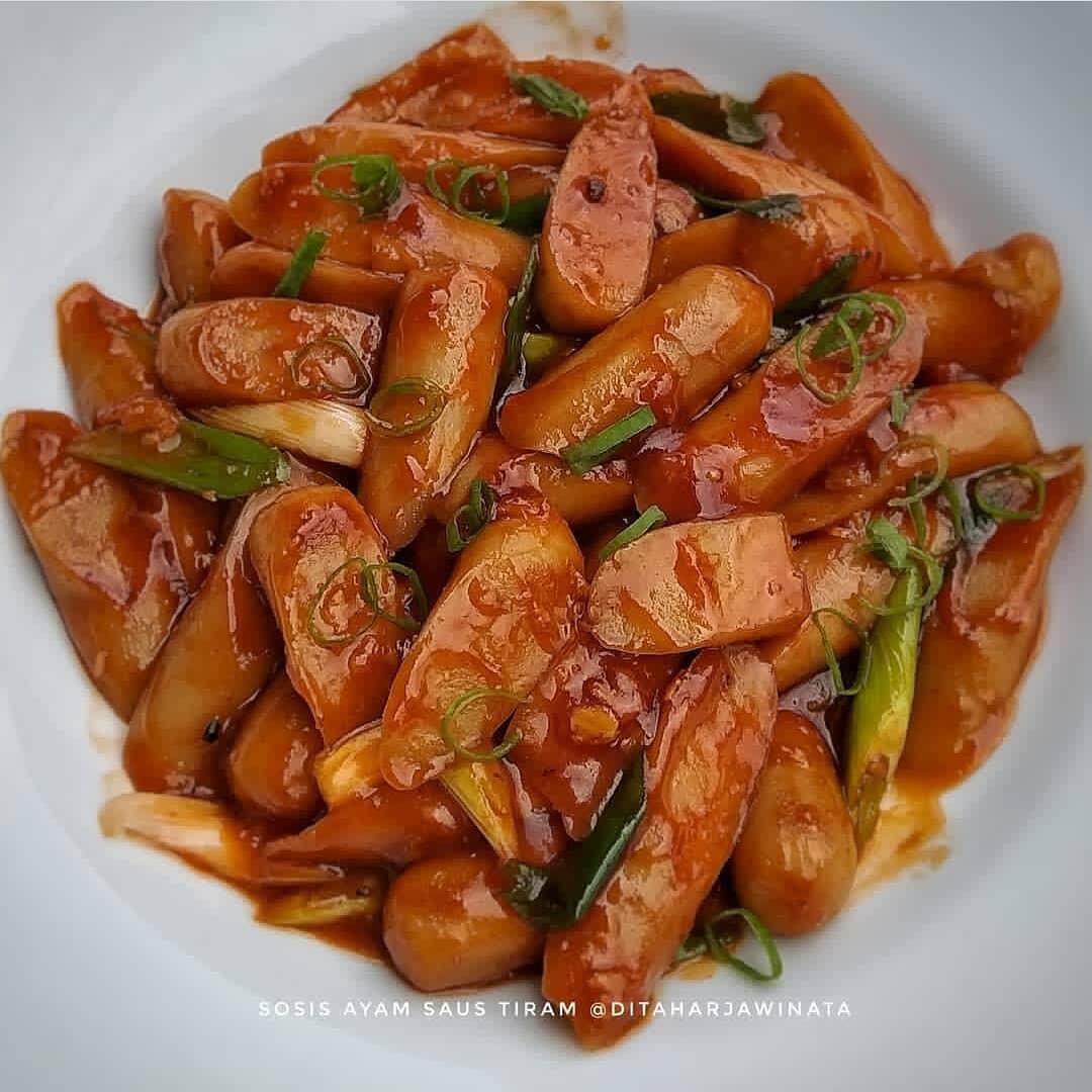 Ide Resep Masak Sosis Ayam Saus Tiram
