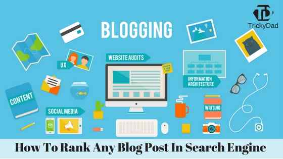 How to rank any blog post