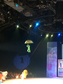 Disney on Ice Toy Story 3 scene with green soldier