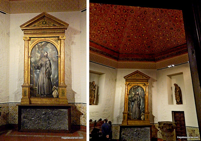 Altar de San Bernardino, Museu Casa de El Greco, Toledo, Espanha