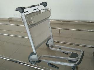 jual trolley bandara aluminium alloy