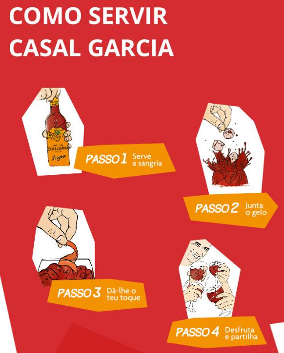 Sangria Casal Garcia