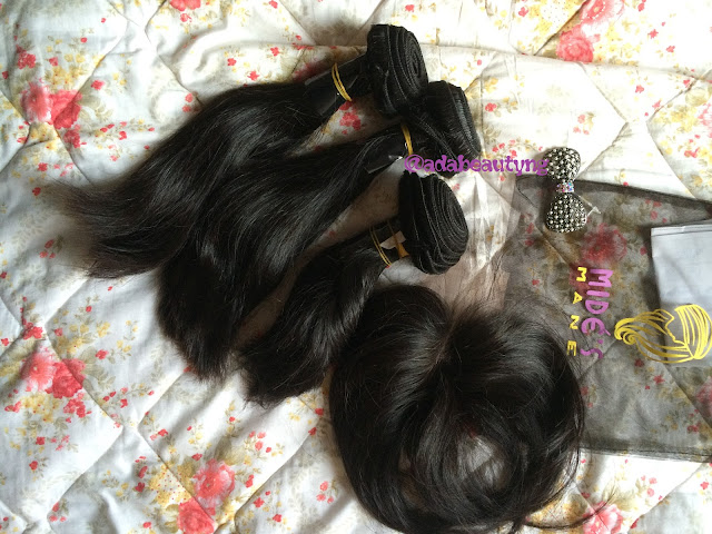 Brazilian hair from Mide's Mane