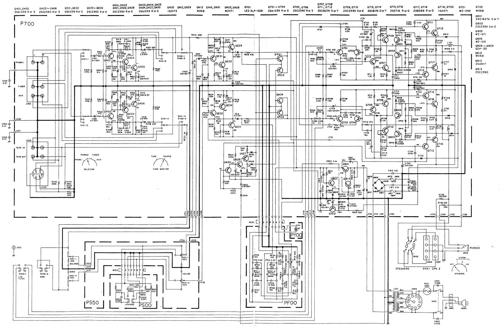 Marantz Marantz Stereo Amplifier Schematic