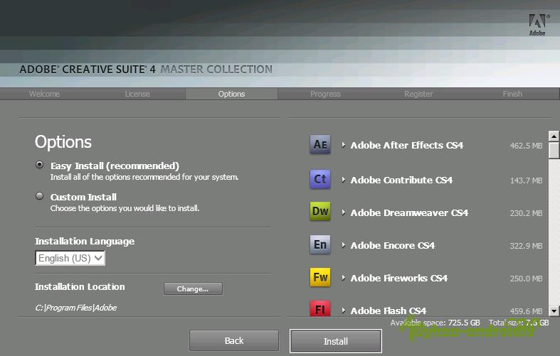 Adobe Master Collection CS 4