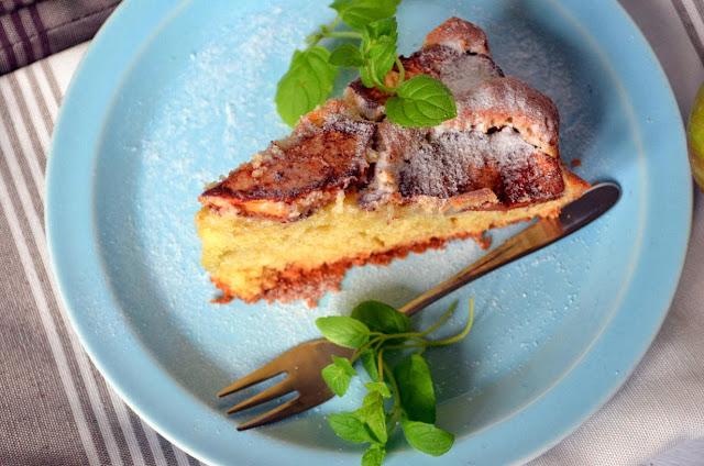 ciasto-z-jablkami Ciasto lane z jabłkami