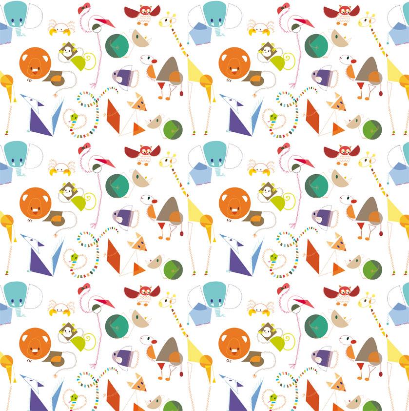 Elodie Lauret Illustrations Des Formes Et Des Animaux