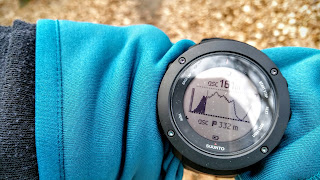 suunto ambit3 vertical current position in altitude profile