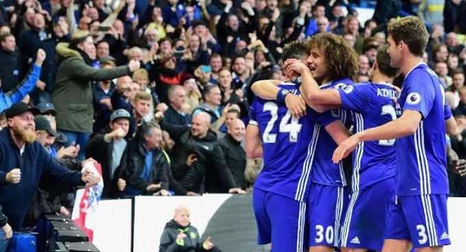 Chelsea Spoil Mourinho's Return With 4:0 Against Man Utd