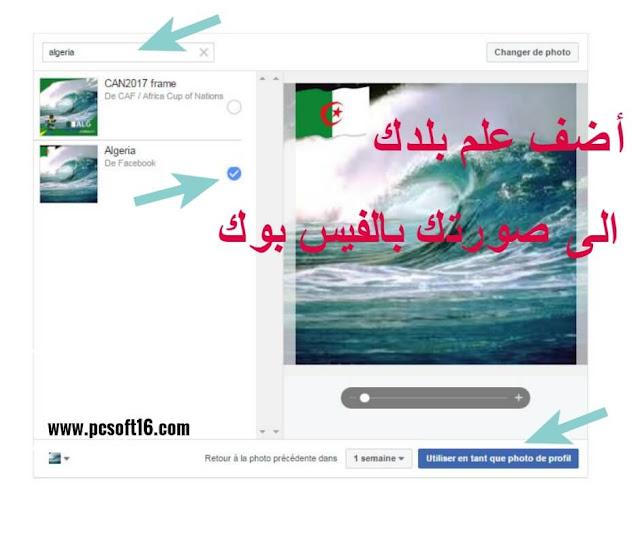 علم, دولة, فيسبوك, add frame ,face book