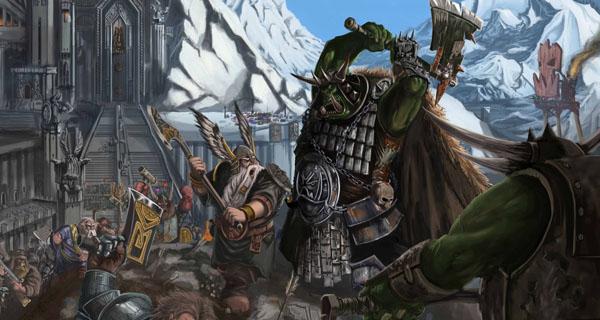 Ilustración de Warhammer Fantasy