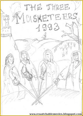 The Three Musketeers 1993 sketch poster