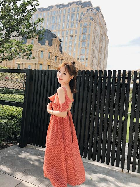 Vay Maxi Canh Tien New