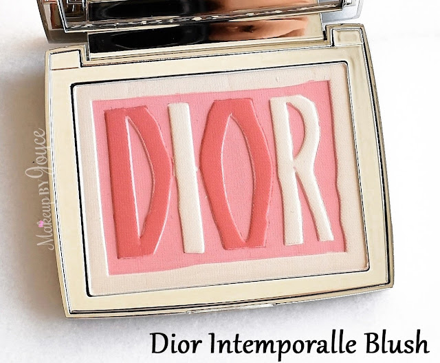 Dior Intemporalle Miss Dior Label Glowing Colour Blush Palette 2016 004 Pink Review